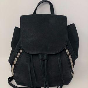 Rebecca Minkoff Charcoal Gray Suede Backpack